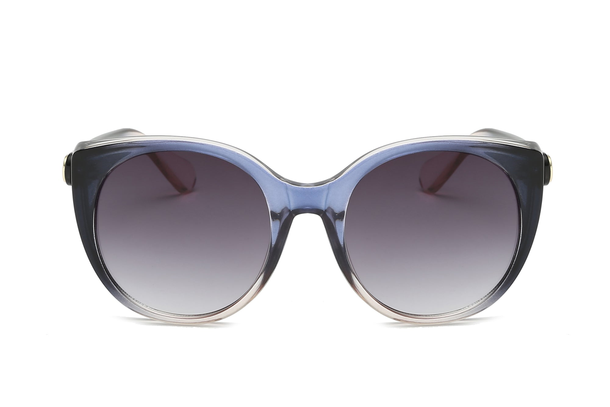 S1121 - Women Round Cat Eye Fashion Sunglasses - Iris Fashion Inc. | Wholesale Sunglasses and Glasses