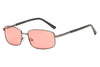 S1049 - Unisex Metal Rectangle Sunglasses - Iris Fashion Inc. | Wholesale Sunglasses and Glasses