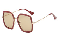 S2059 Women Square Oversize Sunglasses - Wholesale Sunglasses and glasses