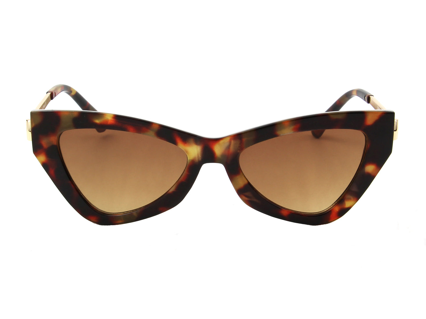 S2099 - Women High Pointed Cat Eye Fashion Sunglasses