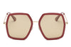 S2059 - Women Square Oversize Sunglasses - Iris Fashion Inc. | Wholesale Sunglasses and Glasses