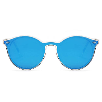 S1100 - Unisex Fashion Retro Round Sunglasses - Iris Fashion Inc. | Wholesale Sunglasses and Glasses