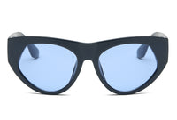 S1059 Women Bold Round Cat Eye Sunglasses - Wholesale Sunglasses and glasses