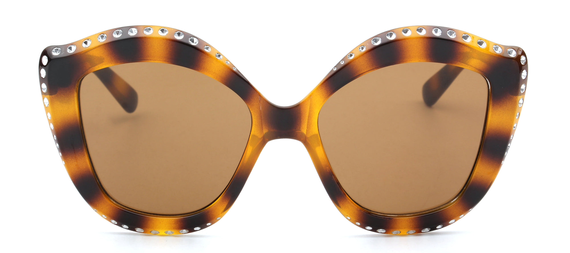S1092 - Women Oversized Round Cat Eye Fashion Sunglasses - Iris Fashion Inc. | Wholesale Sunglasses and Glasses