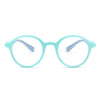 HK1008 - Kids Circle Round Junior Blue Light Blocker Glasses