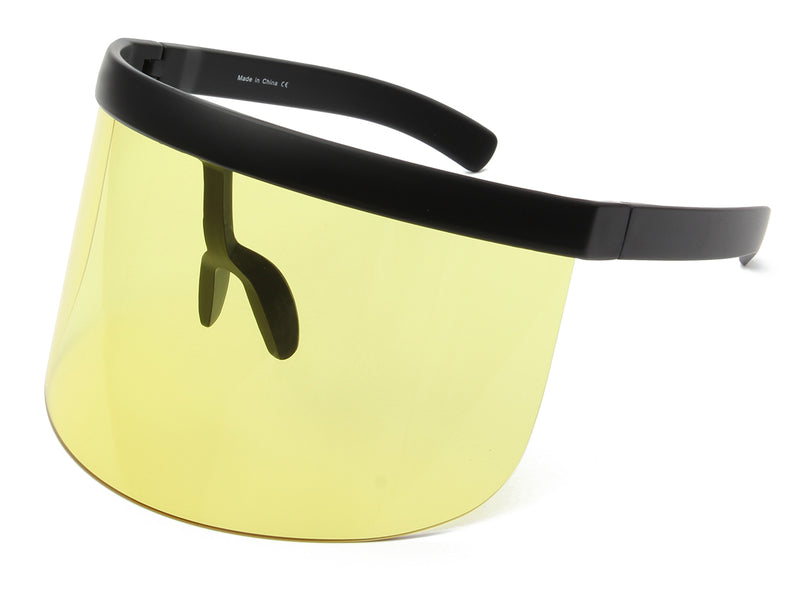 S1155 - Large Oversized Tinted Colored Visor Protection Face Shield