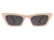 HS1015 - Retro Slim Vintage Cat Eye Fashion Sunglasses