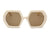S1142 - Women Square Oversize Fashion Sunglasses - Iris Fashion Inc. | Wholesale Sunglasses and Glasses