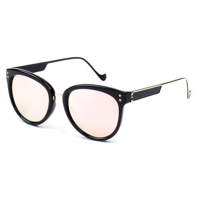 1879 Premium Round Dual Frame Horn Rimmed Sunglasses - Iris Fashion Inc. | Wholesale Sunglasses and Glasses