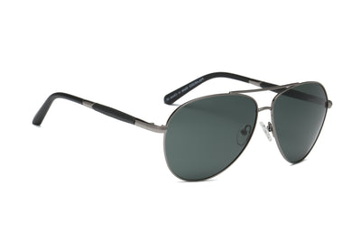 P5001 - Classic Metal Polarized Fashion Aviator Sunglasses - Iris Fashion Inc. | Wholesale Sunglasses and Glasses