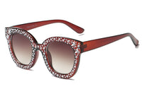 S1087 Women Fashion Oversize Round Sunglasses - Wholesale Sunglasses and glasses
