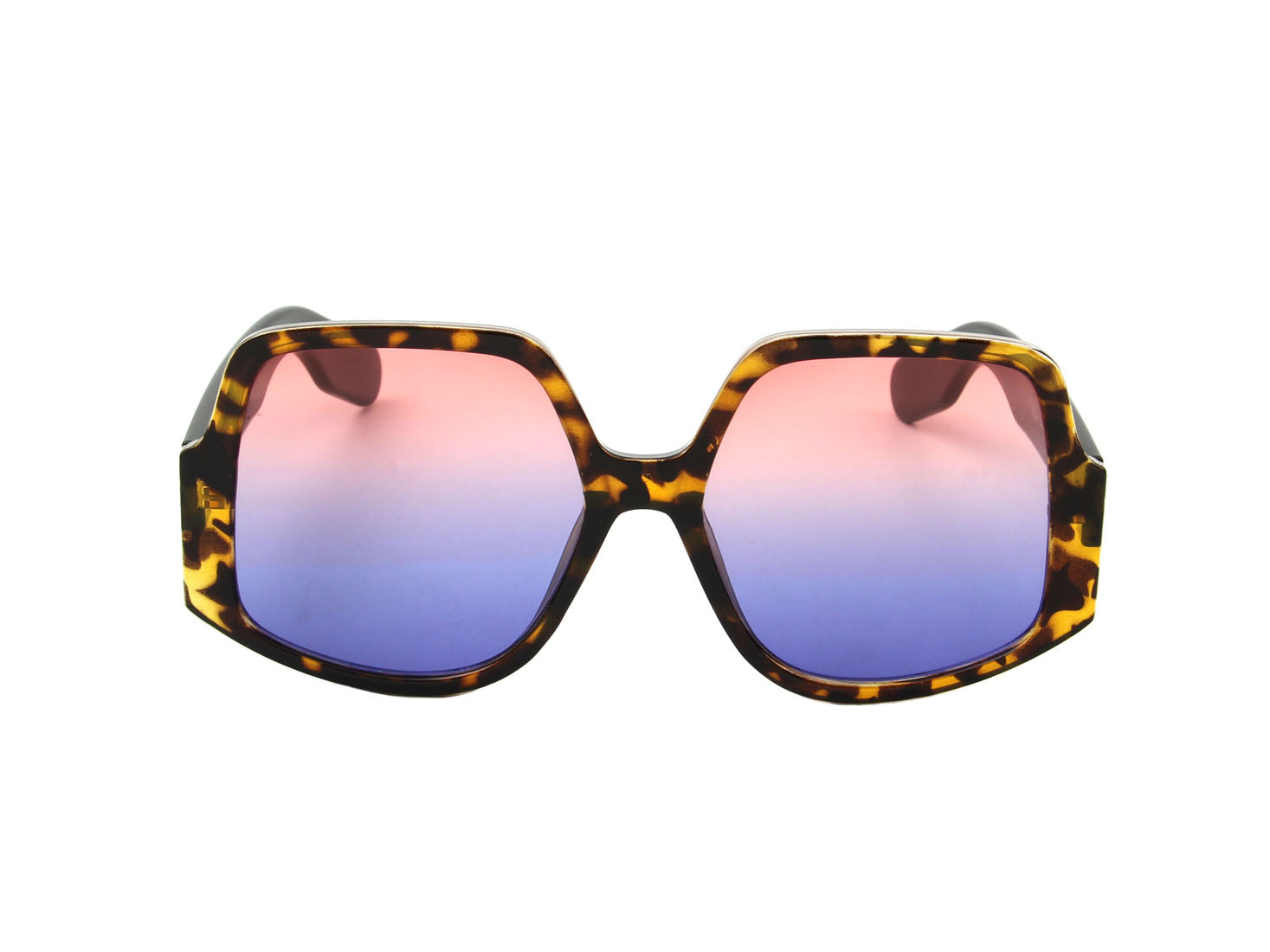 S1146 - Women Square Oversize Fashion Sunglasses