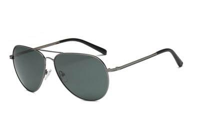 P4004 - Metal Classic Polarized Aviator Sunglasses - Iris Fashion Inc. | Wholesale Sunglasses and Glasses