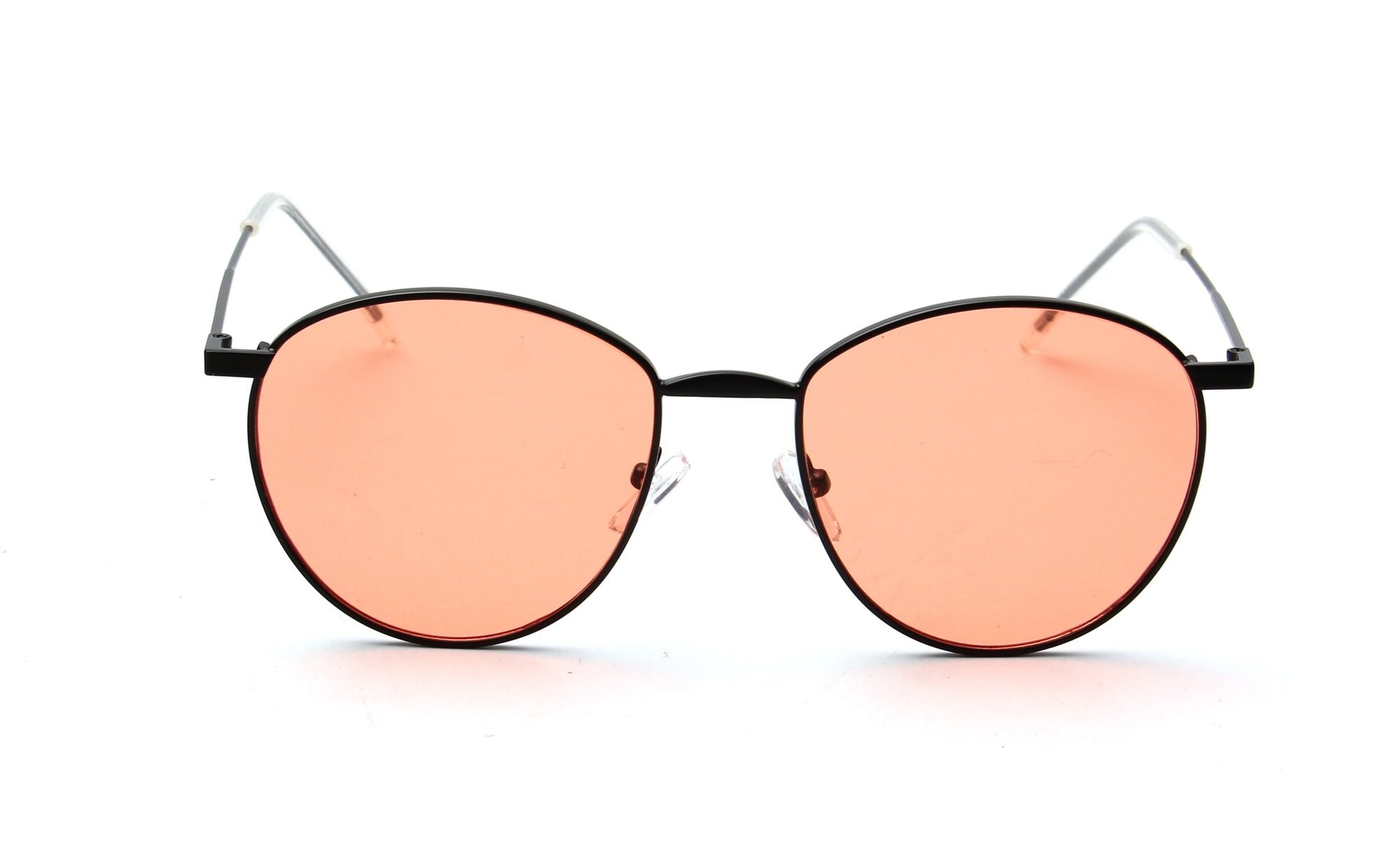 S2051 - Classic Round Tinted Lens Fashion Sunglasses - Wholesale Sunglasses and glasses