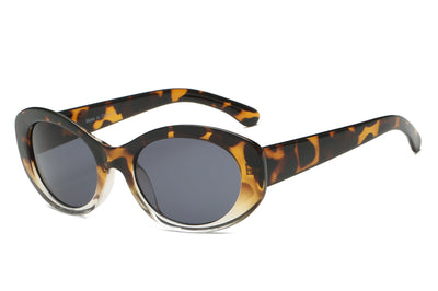 S1043 - Women Fashion Oval Round Sunglasses - Iris Fashion Inc. | Wholesale Sunglasses and Glasses
