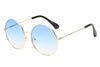 S1067 - Women Metal Round Sunglasses - Iris Fashion Inc. | Wholesale Sunglasses and Glasses
