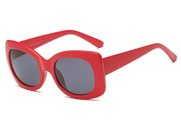 S1063 Women Fashion Retro Bold Oversize Sunglasses - Wholesale Sunglasses and glasses