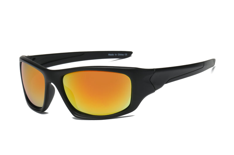 Y1004 - Men Sports Rectangular Sunglasses - Iris Fashion Inc. | Wholesale Sunglasses and Glasses