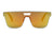 S2075 - Unisex Retro Square Mirrored Sunglasses - Iris Fashion Inc. | Wholesale Sunglasses and Glasses