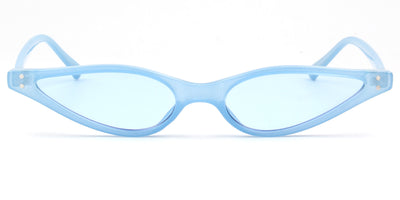 S1051 - Women Slim Retro Cat Eye Sunglasses - Wholesale Sunglasses and glasses