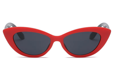 S1072 -  Women Retro Cat Eye Sunglasses - Wholesale Sunglasses and glasses