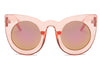 S1066 - Women Round Cat Eye Oversize Sunglasses - Iris Fashion Inc. | Wholesale Sunglasses and Glasses