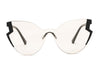 S2074 Women Fashion Oversize Cat Eye Sunglasses - Wholesale Sunglasses and glasses here we show