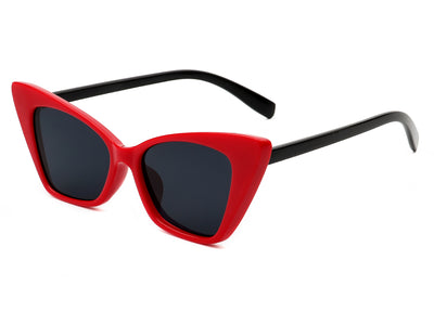 HS1012 - Retro Vintage High Pointed Cat Eye Fashion Sunglasses