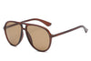 S1083 - Retro Tinted Lens Aviator Sunglasses - Iris Fashion Inc. | Wholesale Sunglasses and Glasses