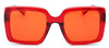 S1093 Retro Square Sunglasses - Wholesale Sunglasses and glasses here we show