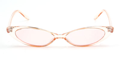 S1054 - Women Retro Vintage Slim Oval Sunglasses - Iris Fashion Inc. | Wholesale Sunglasses and Glasses