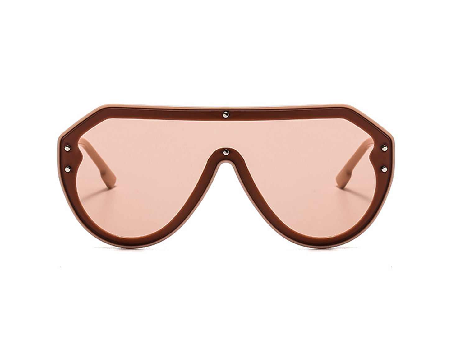 9082 - Oversize Retro Vintage Fashion Tinted Aviator Sunglasses