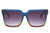 S1133 - Flat Top Square Unisex Fashion Sunglasses - Wholesale Sunglasses and glasses