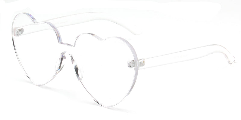 S2058 - Women Heart Shape Sunglasses - Iris Fashion Inc. | Wholesale Sunglasses and Glasses