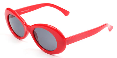 S1042 - Women Retro Oval Round Sunglasses - Iris Fashion Inc. | Wholesale Sunglasses and Glasses