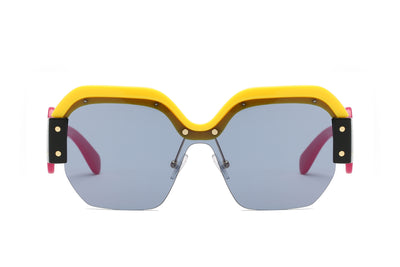 S3016 - Women Oversized Fashion Sunglasses - Wholesale Sunglasses and glasses