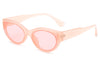 H1021 - Retro Oval Round Vintage Unisex Fashion Sunglasses
