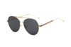 S2006 - Modern Teardrop Aviator Flat Mirrored Lens Sunglasses - Iris Fashion Inc. | Wholesale Sunglasses and Glasses