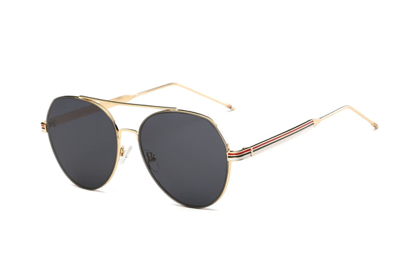 S2006 Modern Teardrop Aviator Flat Mirrored Lens Sunglasses - Wholesale Sunglasses and glasses