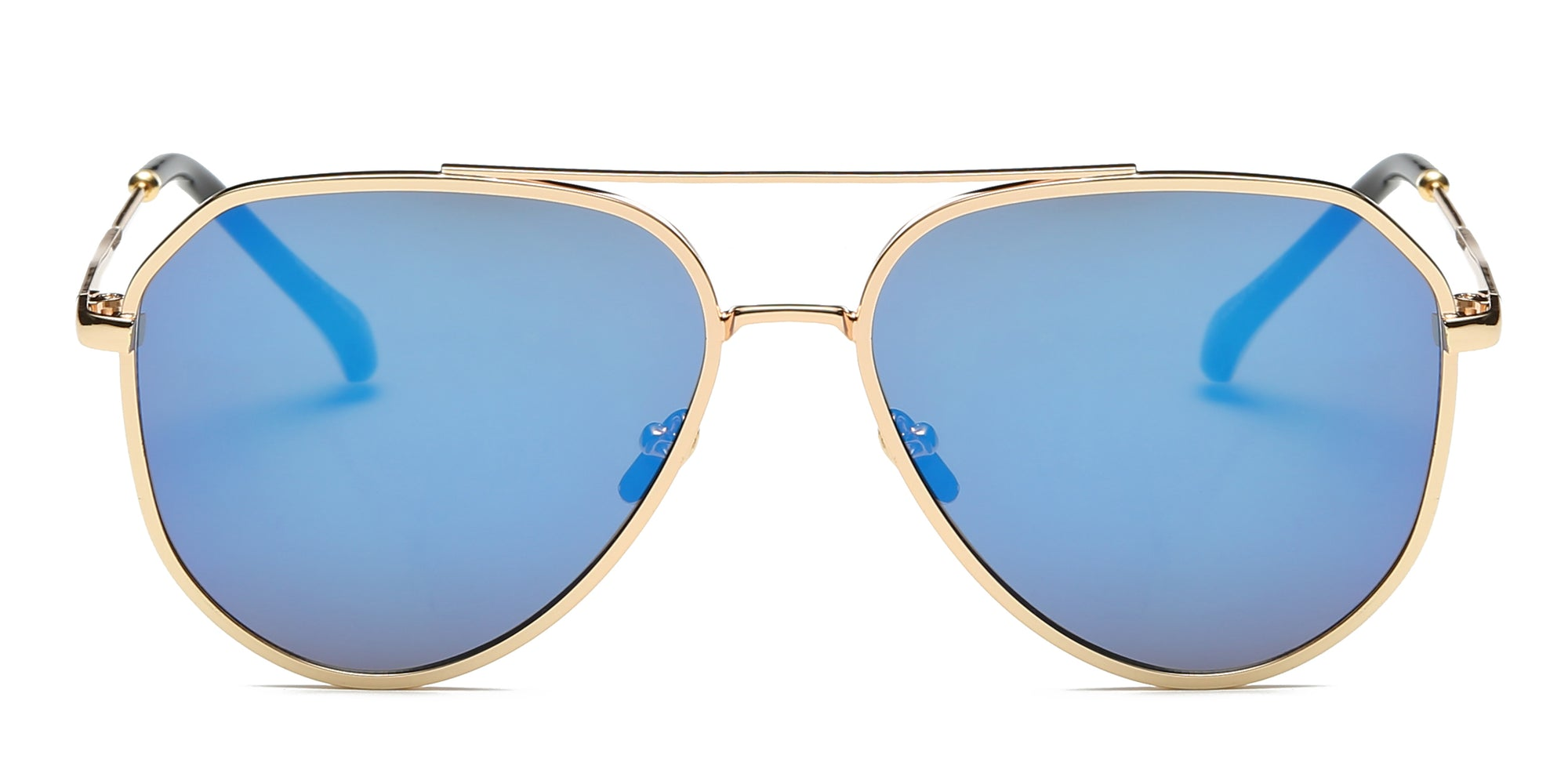 S2046 - Classic Mirrored Aviator Sunglasses - Wholesale Sunglasses and glasses