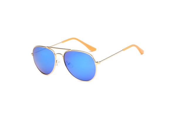 S1007 Women's Classic Gold Frame Aviator Sunglasses - Wholesale Sunglasses and glasses