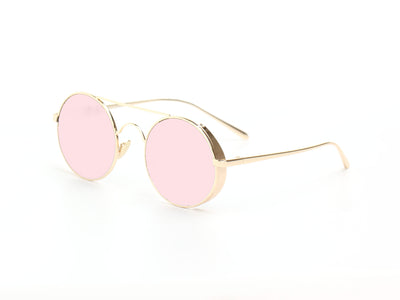 D62 - Retro Metal Round Circle Lennon Sunglasses - Wholesale Sunglasses and glasses