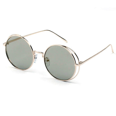 D37 Iconic Lennon Inspired Metal Frame Round Sunglasses - Iris Fashion Inc. | Wholesale Sunglasses and Glasses