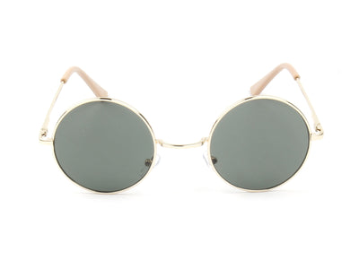 E10 - Retro Lennon-Inspired Circle Round Sunglasses - Iris Fashion Inc. | Wholesale Sunglasses and Glasses