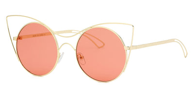 S2049 - Women Round High Pointed Cat Eye Sunglasses - Iris Fashion Inc. | Wholesale Sunglasses and Glasses