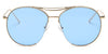 S2036 - Oversize Tinted Lens Round Sunglasses - Iris Fashion Inc. | Wholesale Sunglasses and Glasses