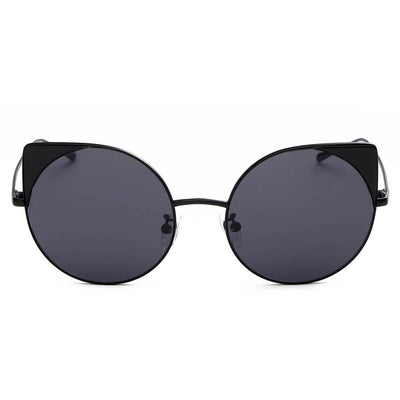 CA03 - Women Mirrored Lens Round Cat Eye Sunglasses - Iris Fashion Inc. | Wholesale Sunglasses and Glasses