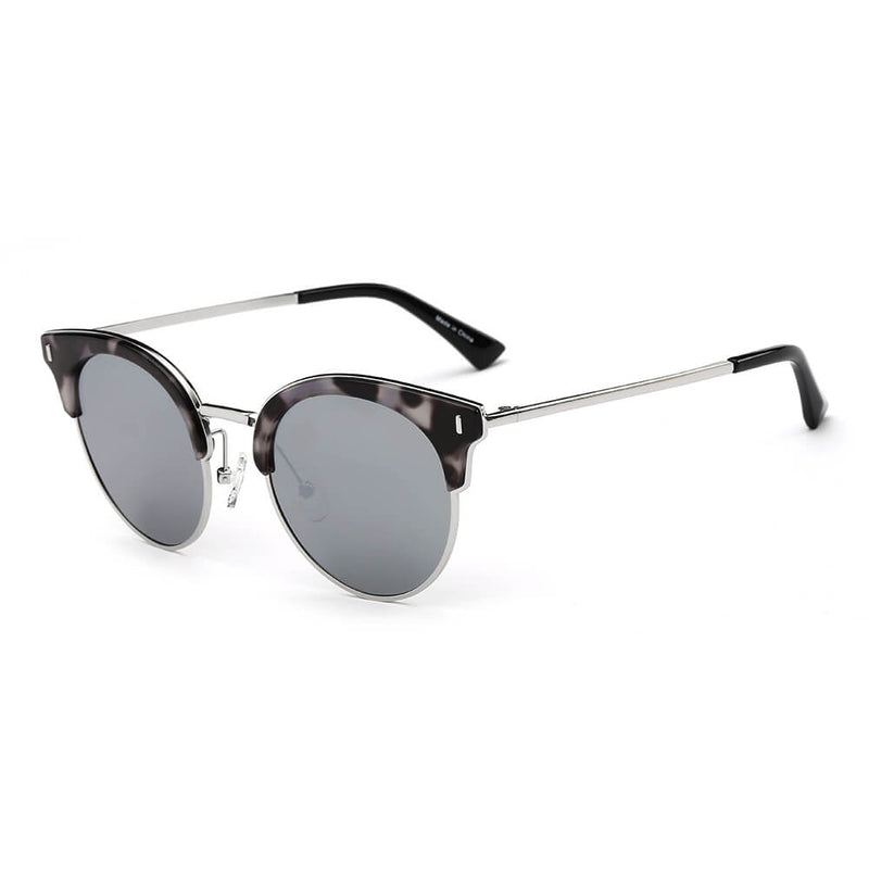 742a87636f PCA05K Trendy Clubmaster Polarized Lens Sunglasses - Wholesale Sunglasses  and glasses here we show