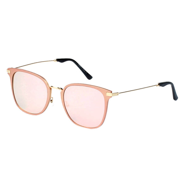 A17 Women's Flat Lens Metal Frame Cat Eye Sunglasses - Wholesale Sunglasses and glasses