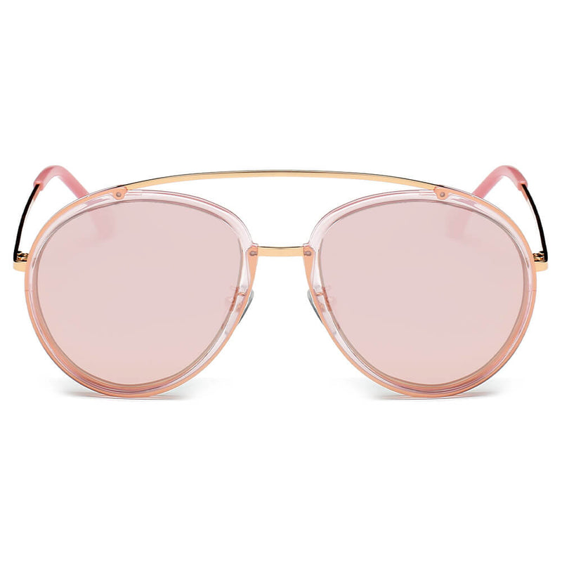 cf13538cee PCA13 Mirrored Polarized Lens Oversize Top Bar Sunglasses - Wholesale  Sunglasses and glasses here we show